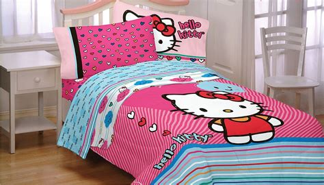 hello kitty bedding colorful hello kitty bedding decoist