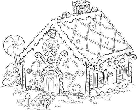 how to make black out of food coloring coloring sheets gingerbread house free