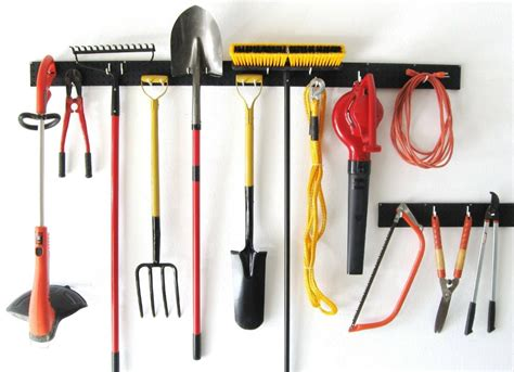 Garden Tool Wall Rack Garage Storage Ideas 10 Organizers For A Tidy Garage