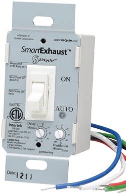 Bathroom Ventilation Ashrae S P Timers Controls Mixed Flow Fan Bath Kits