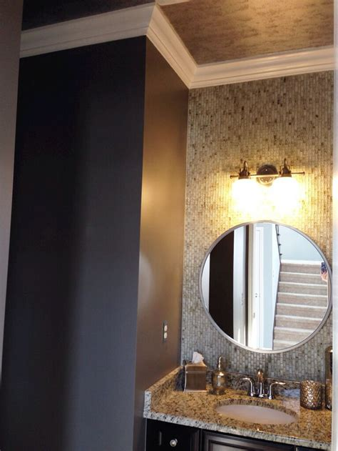sherwin williams powder blue for the home pinterest powder room sherwin williams gauntlet gray paint for