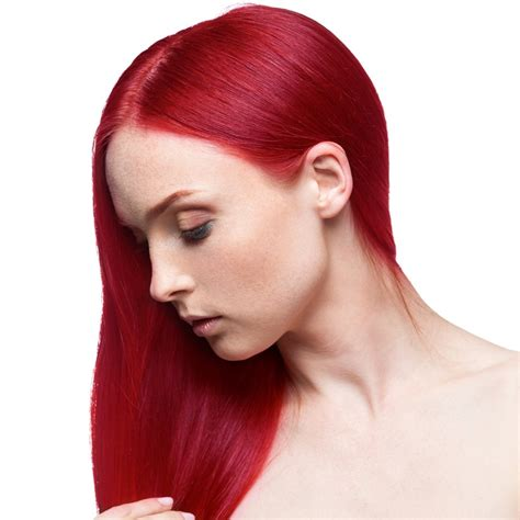 permanent red hair color fudge paintbox semi permanent hair dye red corvette
