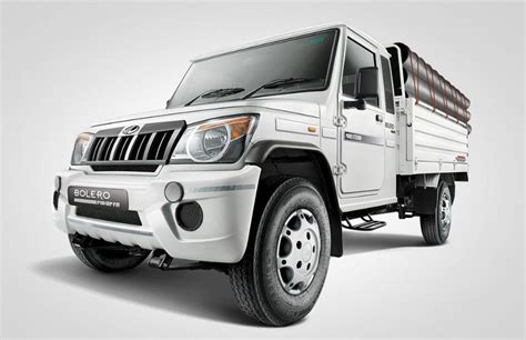 mahindra bolero weight mahindra big bolero pik up price specifications features pics