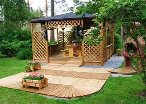 gazebo designs for backyards 22 beautiful garden design ideas wooden pergolas and