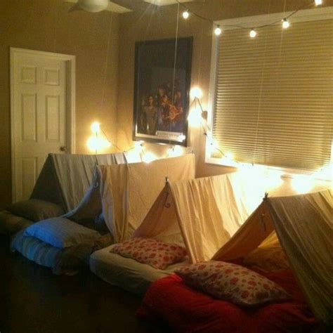 sleepover beds the perfect fort for a sleepover party sleepovers ideas
