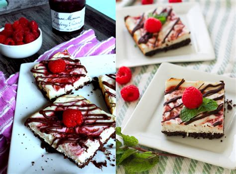 chocolate raspberry cheesecake delight together as family raspberry chocolate cheesecake bars