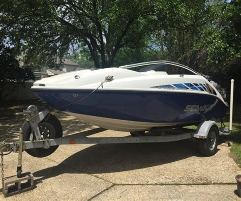 used fishing boats for sale in baton rouge 2005 yamaha seadoo speedster 200 ski boat for sale in