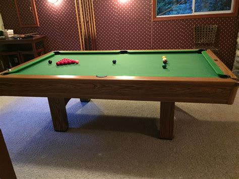 4 5 x 9 pool table 4 5 x 9 cliff thorburn pool table with ping pong table