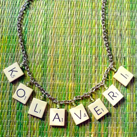 how to make scrabble tile jewelry kolaveri scrabble tile necklace tutorial