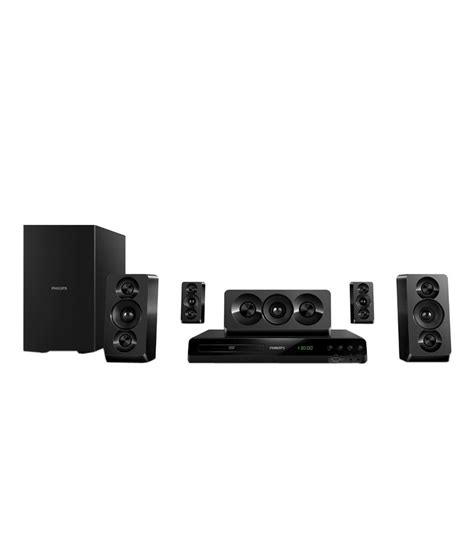 Best Philips Home Theater System Buy Philips Htd5510 5 1 Dvd Home Theatre System At