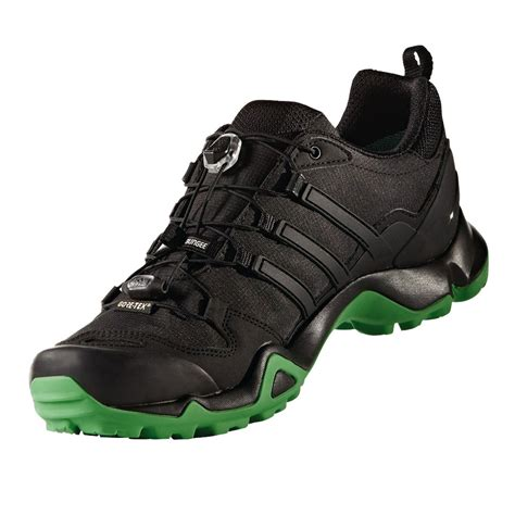 adidas terrex adidas terrex swift r mens green black gore tex waterproof