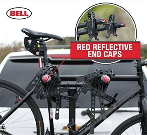 bell hitchbiker 450 4 bike hitch rack with stability
