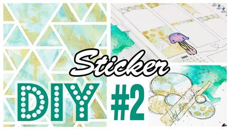 Sticker Selber Machen Diy by Diy Sticker Selbermachen 2 Gelli Plate Monoprint