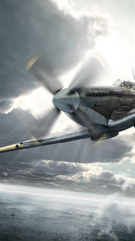 wallpaper supermarine spitfire fighter aircraft royal