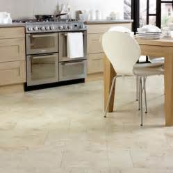 marvelous Types Of Kitchen Flooring #1: Kitchen-Floor-Tiles-With-Light-Cabinets.jpg