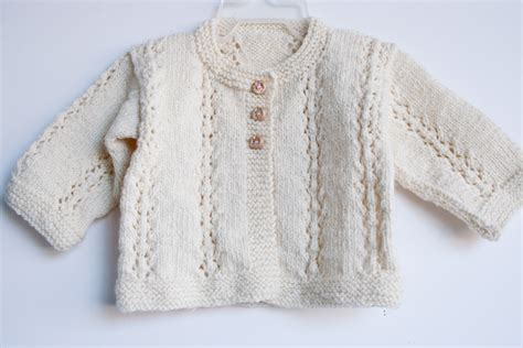 baby knitted jumper knit merino baby sweater nancy elizabeth designs