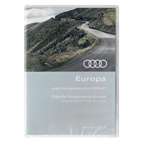 Audi Rns E Navigation Dvd by Audi Europa Europe Navi Navigations Update Dvd Rns E Rnse