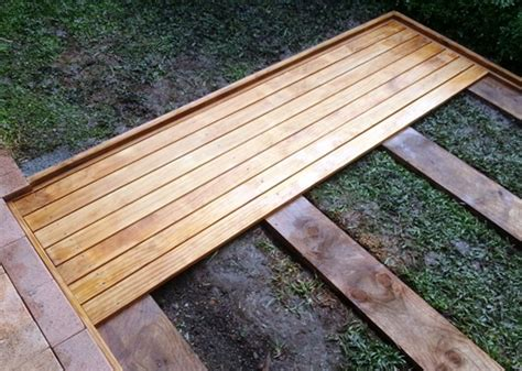 wood l post designs cool deck design
