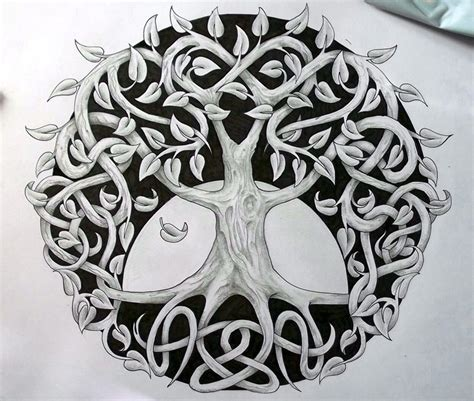 celtic tree of life tattoo design tattoos earthy