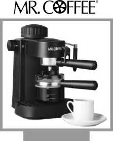 Sunbeam Bread Machine Recipe Mr Coffee Espresso Maker Ecm10 User Guide Manualsonline Com