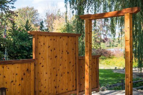 Japanese Garden Gates Ideas Japanese Style Cedar Gate
