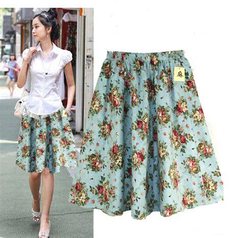 2015 summer cotton linen skirts plus size vintage