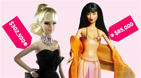 Bathroom Organizing Ideas by The 9 Most Expensive Barbie Dolls Of All Time