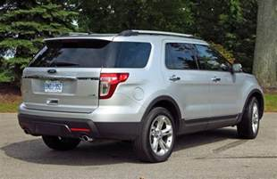 2015 Ford Explorer Limited Price Suv Review 2015 Ford Explorer Limited Driving