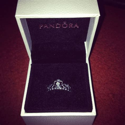 pandora tiara princess ring silk
