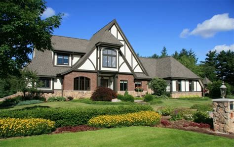 french tudor style home traditional exterior newark ask maria should my roof go black on my tudor home