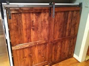 Barn Door Cabinets Barn Door Distressed Wood Cabinet Custom By Toolshedoriginals