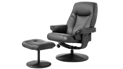 harvey norman recliner lusso pu recliner and footstool recliner chairs living