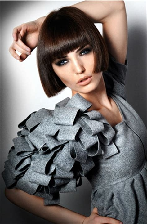this is a really cute and neatly styled short bob with cute medium haircuts short formal hairstyles tidy and