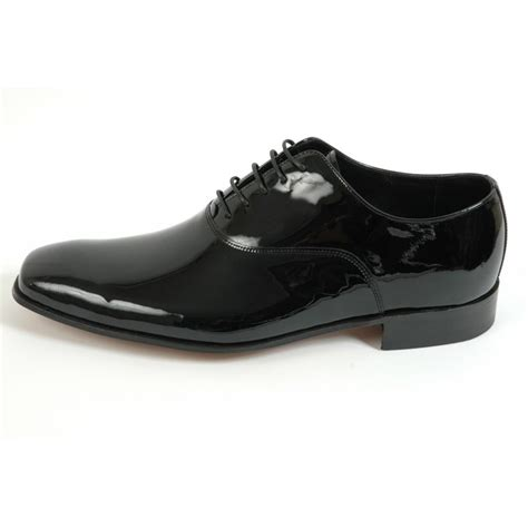 barker mens shoes dominic patent leather dresswear