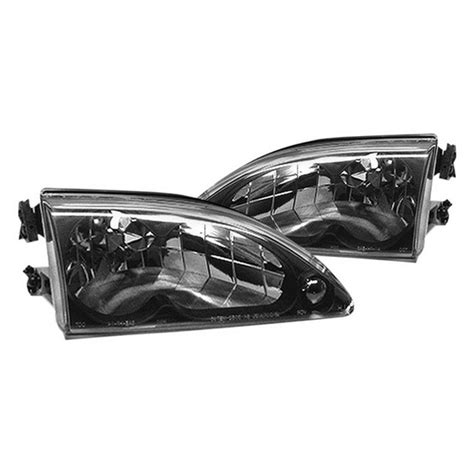 1994 ford mustang headlights 94 98 ford mustang black housing headlights