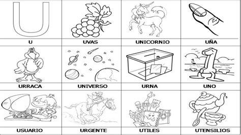 imagenes que empiecen con la letra u a color lectoescritura decora tu clase abecedario en im 225 genes