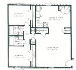 2 Bedroom 2 Bath House Floor Plans by Two Bedroom Two Bath Floor Plans Bedroom At Real Estate