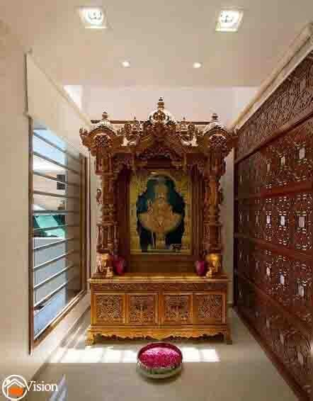 pooja rooms interior designers  hyderabad  vision