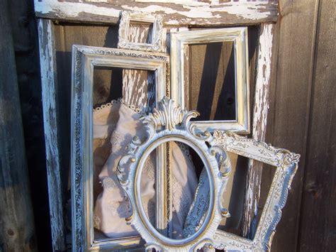Frame Shabby 5 set of 5 ornate frames shabby chic frame lot by rusticathart