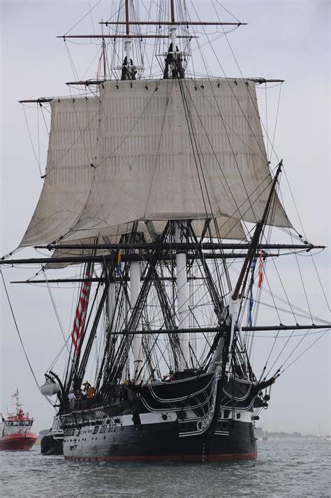 suit of sails uss constitution eras quot ironsides quot sets sail again