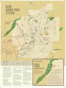 where is bend oregon on a map bend oregon trail map