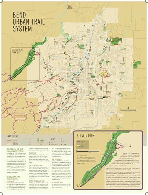 rails to trails oregon map bend oregon trail map