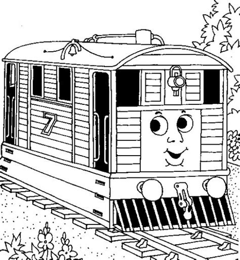 Fun Coloring Pages Thomas The Tank Engine Coloring Pages The Tank Engine Colouring Pictures To Print