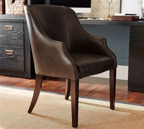 Leather Desk Chair No Wheels by Best 25 Office Chair Without Wheels Ideas On