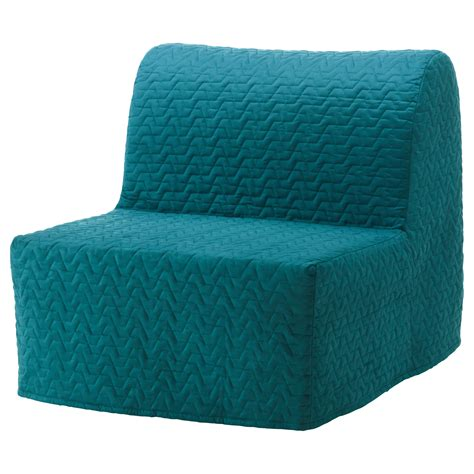 turquoise futon cover lycksele chair bed cover vallarum turquoise ikea