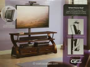 tv stands costco bayside furnishings 3 in 1 tv stand