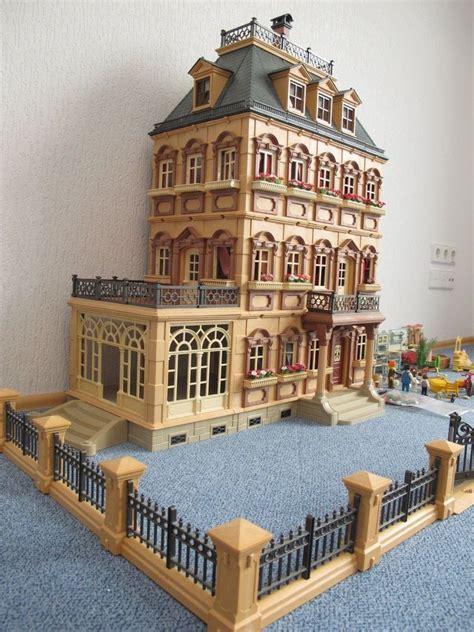 playmobil nostalgie puppenhaus villa mit einrichtung und