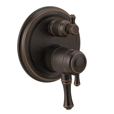 shop delta venetian bronze 2 handle wall mount pot filler delta 2 handle wall mount valve trim kit with 3 setting