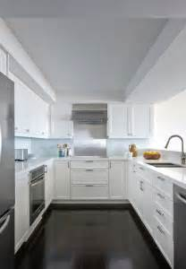 U Shape Kitchen Designs Hepfer Designs Contemporary U Shaped Kitchen Design With White Shaker Kitchen Cabinets