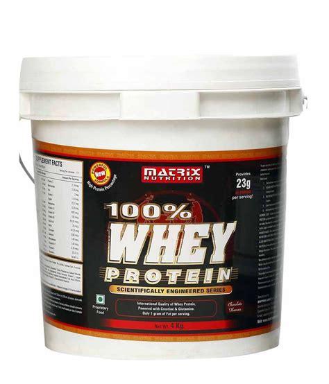 Whey Matrix Matrix Nutrition 100 Whey Protein 4 Kg Buy Matrix